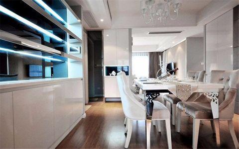 文艺白色餐桌家装设计