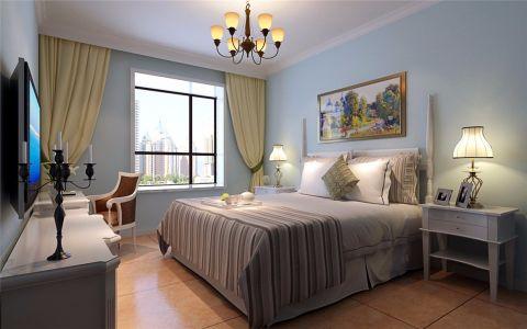 雅致黄色卧室设计图