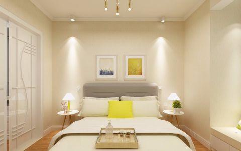 卧室米色背景墙设计图