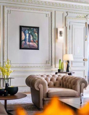 简欧客厅背景墙设计方案