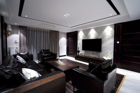 20万预算200平米四室两厅装修效果图
