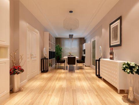 餐厅走廊现代风格装潢效果图