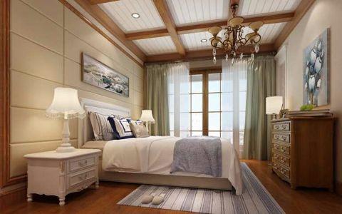 卧室照片墙中式风格装修图片