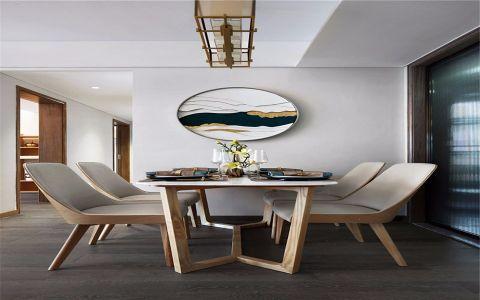 餐厅照片墙新中式风格装饰设计图片