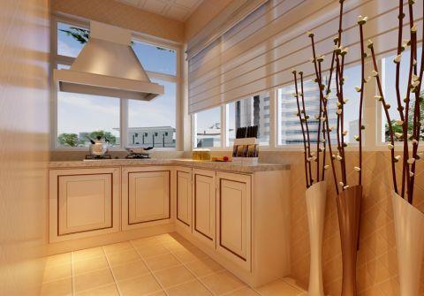 厨房窗台简欧风格装修图片
