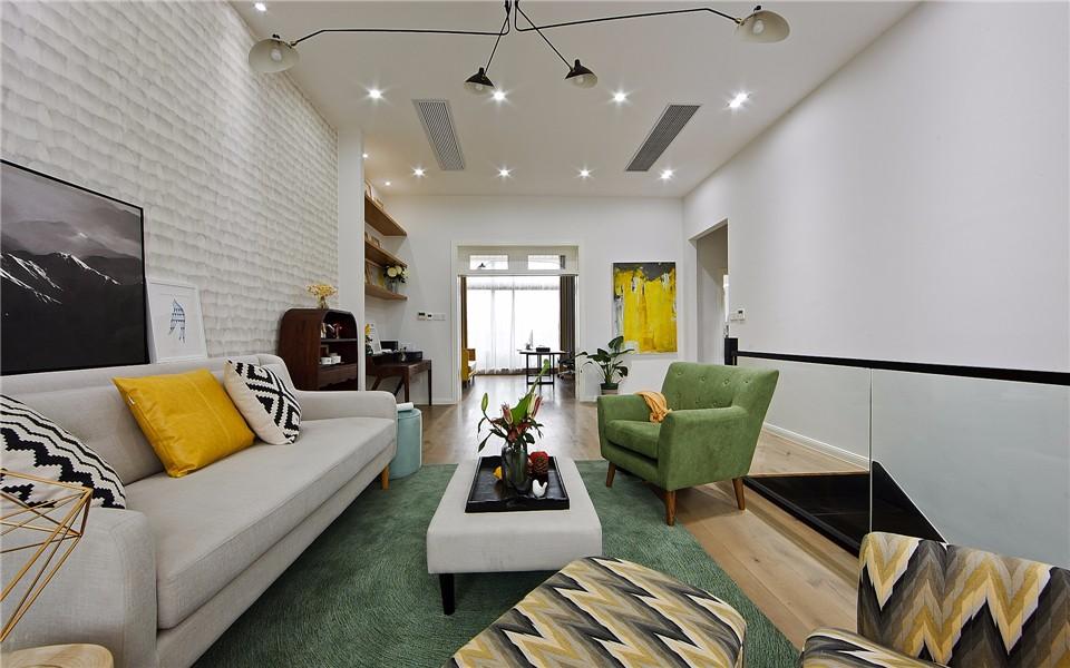 1室1卫1厅201平米北欧风格