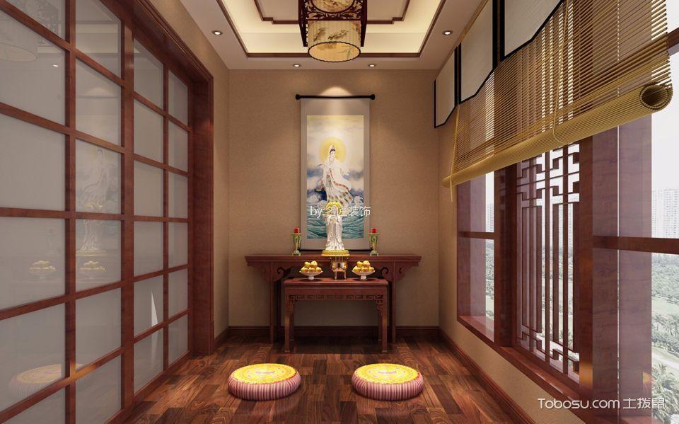 阳台咖啡色推拉门现代风格装饰效果图