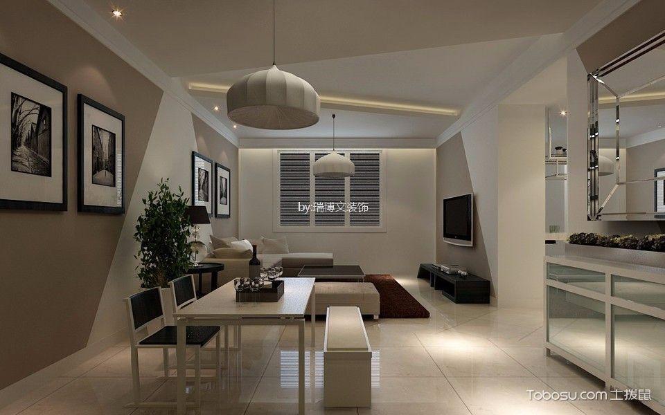 12万预算150平米三室两厅装修效果图