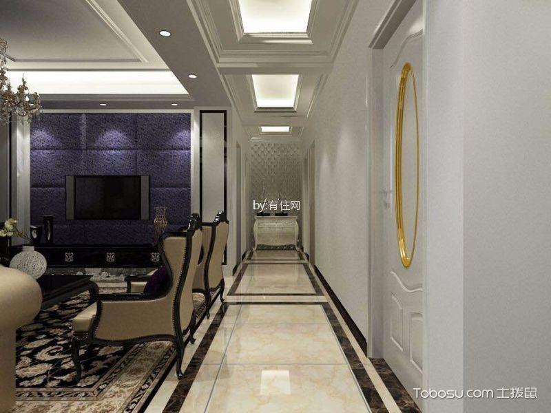 16万预算160平米三室两厅装修效果图