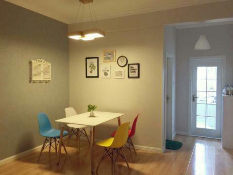 80平北欧风格公寓装修效果图