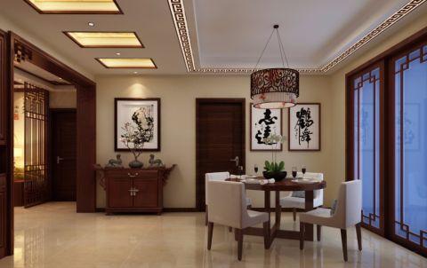 2019新中式150平米效果图 2019新中式公寓装修设计