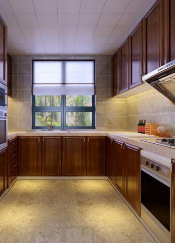 厨房窗台新中式风格装修设计图片