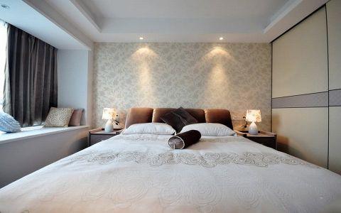 卧室飘窗简约风格装潢设计图片