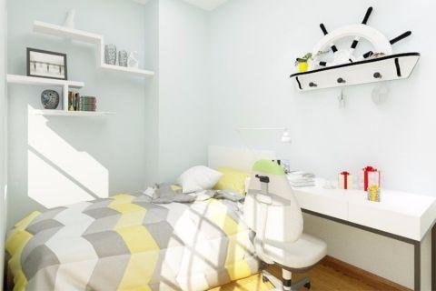 儿童房背景墙现代风格效果图