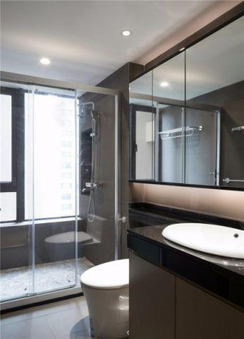 卫生间推拉门新中式风格装潢图片