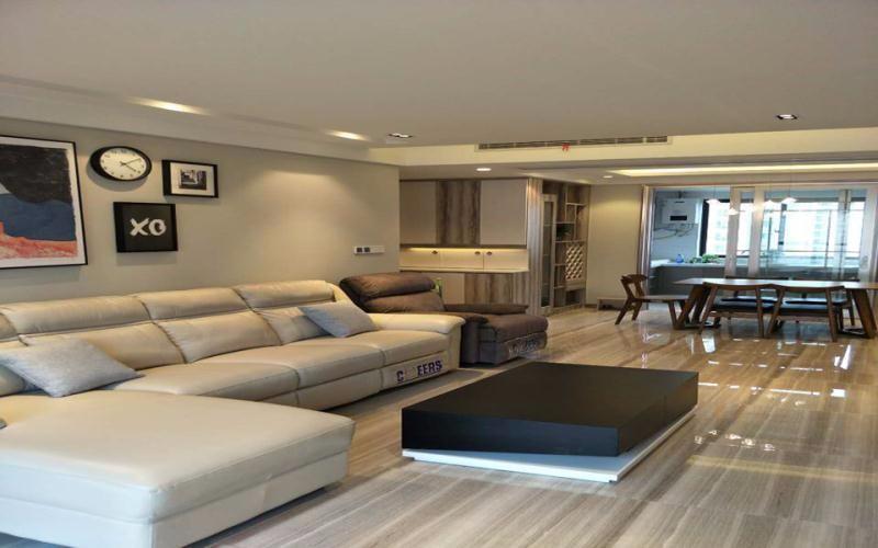 3室2卫1厅125平米简约风格