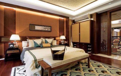卧室照片墙东南亚风格装饰效果图
