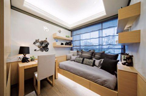 卧室榻榻米美式风格装饰设计图片
