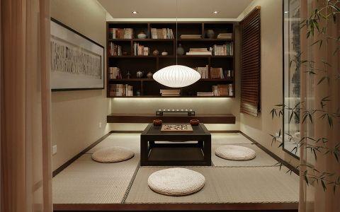 书房榻榻米新中式风格装饰效果图