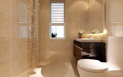 卫生间窗台现代简约风格装修图片