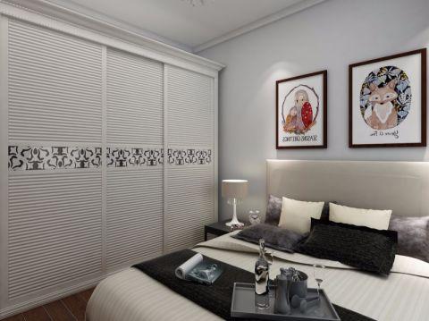 卧室隔断简欧风格效果图