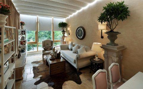 常发香堤半岛别墅美式风格装修效果图