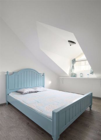 卧室吊顶地中海风格装潢设计图片
