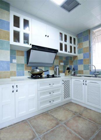 厨房窗台混搭风格装修效果图
