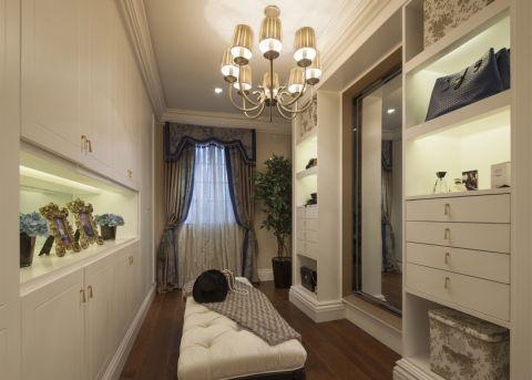 衣帽间背景墙法式风格装饰效果图