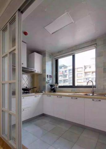 厨房隐形门欧式风格装潢图片