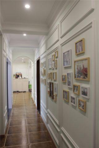 玄关照片墙混搭风格装饰效果图
