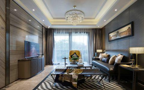 中和园120平简约风格三居室装修效果图