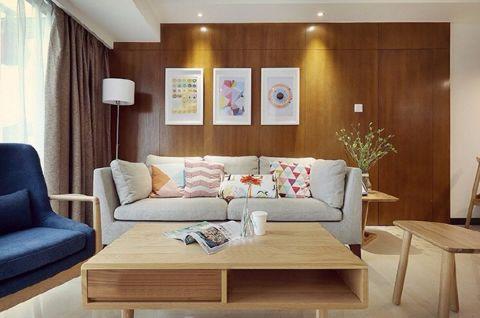 鑫港园93平米北欧风格二居室装修效果图