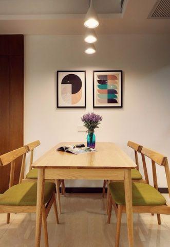 餐厅照片墙北欧风格装修效果图