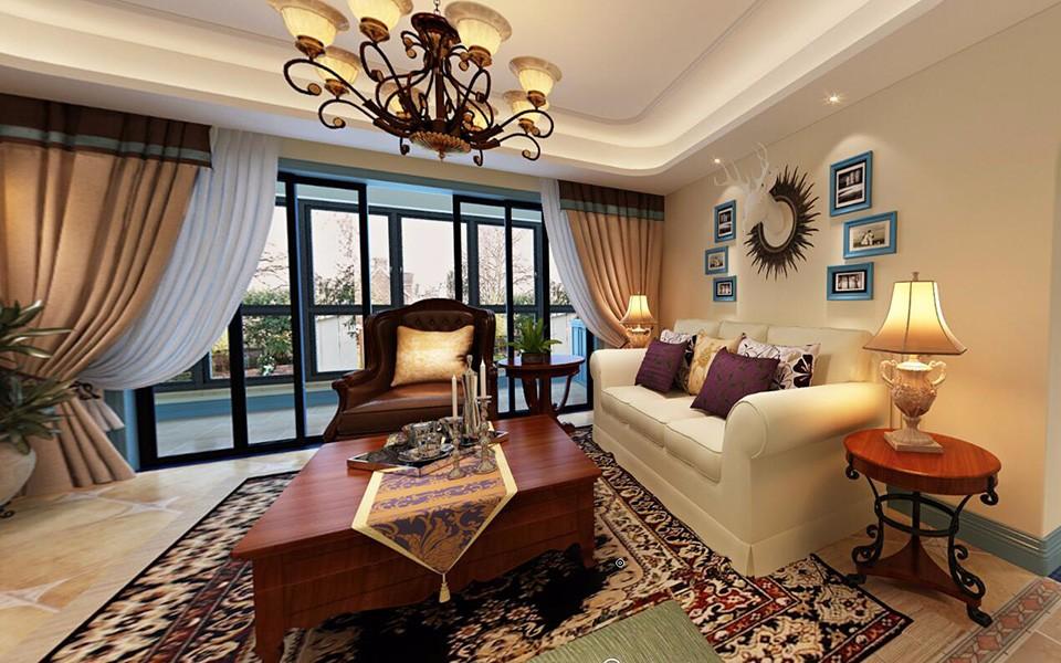 3室2卫2厅地中海风格