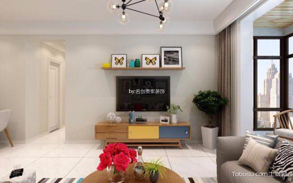 长治东城世家123平米现代简约风格效果图
