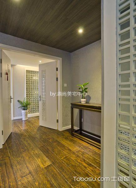 杭州万家星城120平米新中式风格效果图