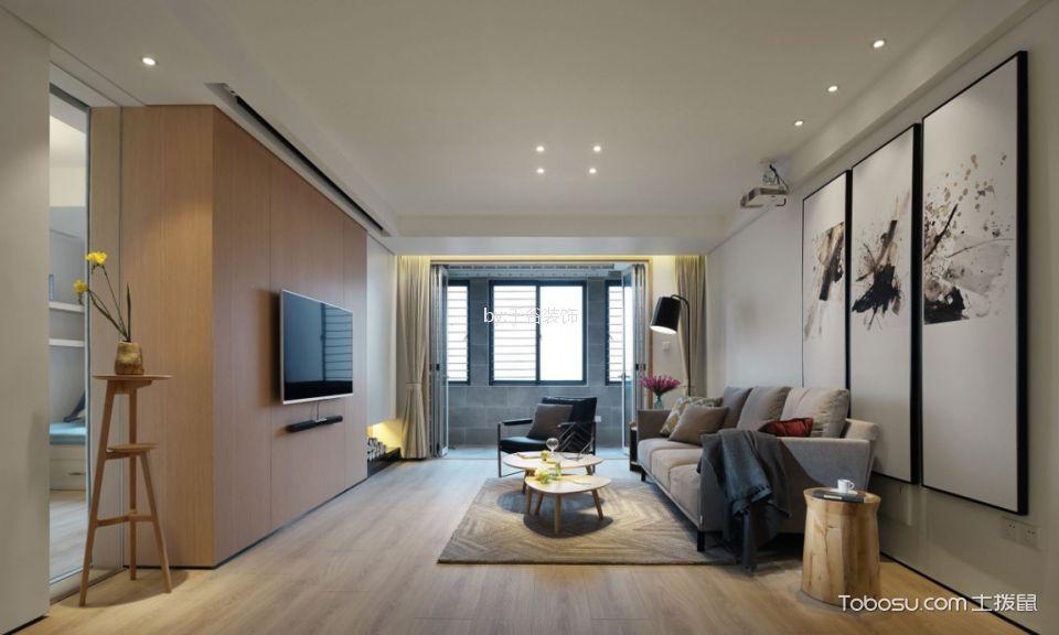 20万预算140平米公寓装修效果图