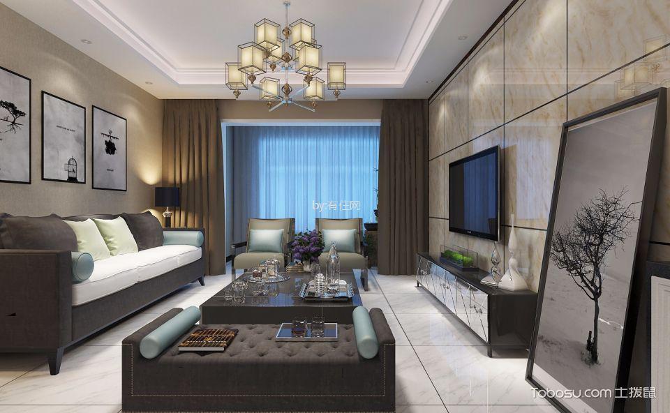 海珀兰轩180平米现代风格大户型装修效果图