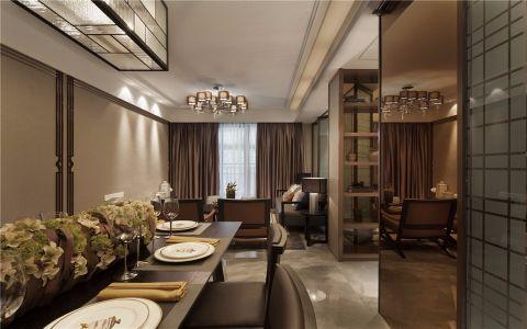 餐厅走廊混搭风格装修效果图