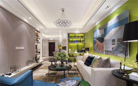 5万预算126平米三室两厅装修效果图