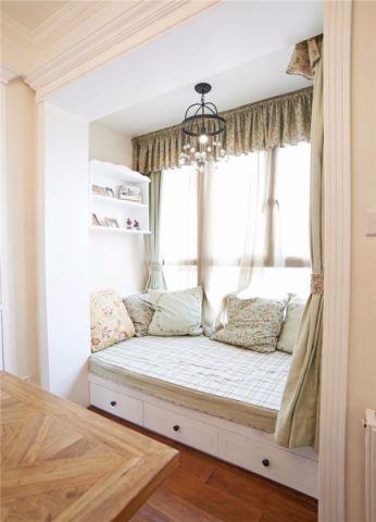 阳台榻榻米美式风格装饰图片