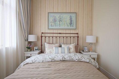 2020美式120平米装修效果图片 2020美式三居室装修设计图片