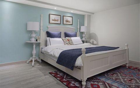 卧室床现代简约风格装潢图片
