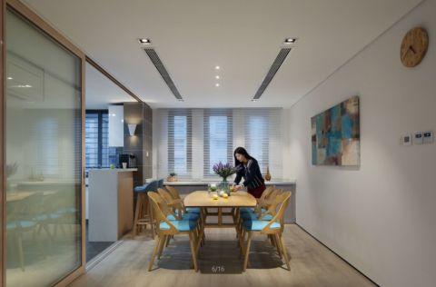 餐厅窗帘现代简约风格效果图