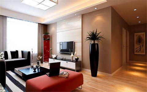 客厅走廊现代风格装潢效果图