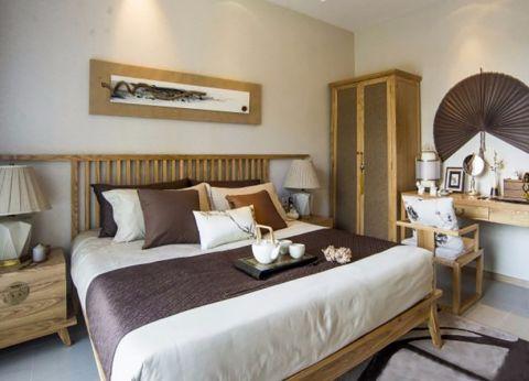 卧室梳妆台新中式风格装修设计图片