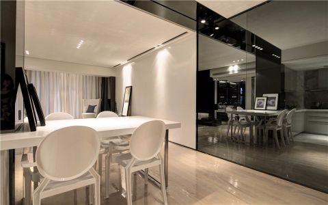 厨房餐桌现代简约风格装修图片