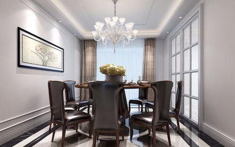 18.5万预算160平米四室两厅装修效果图