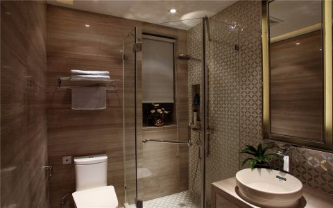 卫生间吊顶现代简约风格装潢效果图
